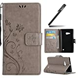 Ukayfe Etui de Protection PU Cuir Coque Relief Motif Folio Bookstyle Housse à Rabat...