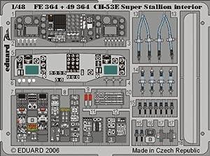 Eduard Accessories FE36430502000CH de 53E Super Stallion ewto para Academy/MRC de Montar
