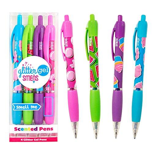 Scentco Glitzer Gelschreiber Smens 4er-Pack von duftende Stifte