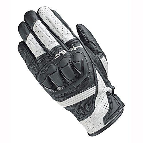 Preisvergleich Produktbild Held 2724 Spot Motorrad Handschuhe – Schwarz Weiß,  UK Verkäufer