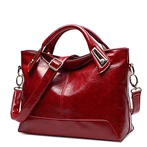 YAAGLE sac à main femme en Simili cuir avec manche