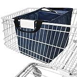 achilles Easy-Cooler, Faltbare Einkaufswagentasche mit Kühleinsatz, Einkaufstasche passend für...