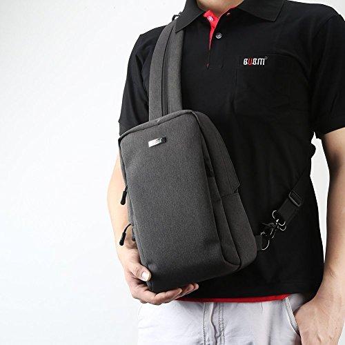 Preisvergleich Produktbild BUBM Reisetasche Umhängetasche Rucksack Crossbody Taschen Rucksack für Nintendo Switch Console, Joy-Cons und Zubehör