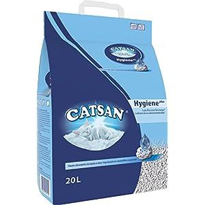 Litière Chat Catsan Hygiène Plus - Litière pour Chat 20 L