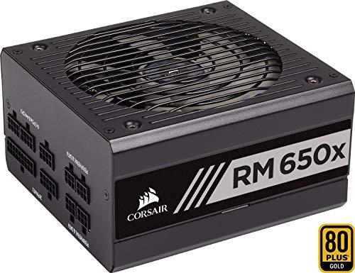 Corsair RM650x PC-Netzteil (Voll-Modulares Kabelmanagement, 80 Plus Gold, 650 Watt, EU) -