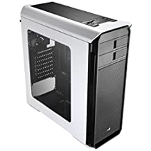Aerocool Aero-500 Gaming Case with Window and Card Reader - White by AeroCool