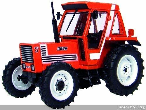 Tracteur fiat 880 dt 1/43 - miniature collection universal hobbies 6058