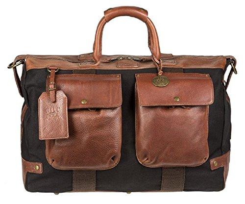 Will Leather Goods, Borsa a mano uomo Marrone/nero