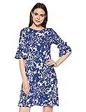 Marks & Spencer Women's Shift Knee-Long Dress (8393K_Blue Bell_8)
