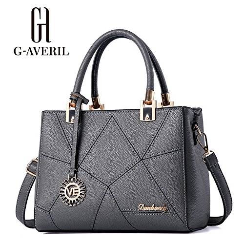 G-AVERIL, Borsa a mano donna Navy Blue Grey