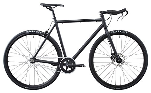 FIXIE INC  PEACEMAKER   BICICLETA SINGLE SPEED   NEGRO TALLA 57 5 CM 2017 BICICLETAS SINGLE SPEED