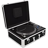 Gorilla GC-TT DJ Universal Turntable Record Player Deck Protective Flight Case Carry Case inc Lifetime Warranty