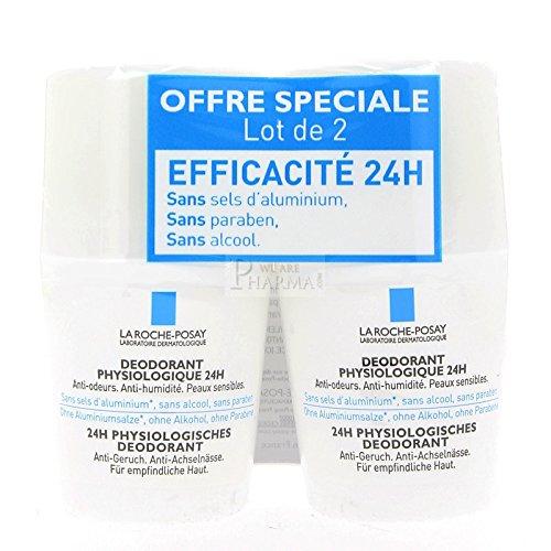 La Roche Posay deodorant bille 2 x 50 ml