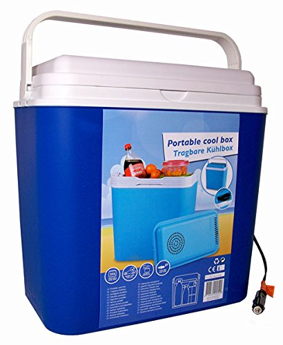 All Ride tragbare thermo-elektrische Kühlbox, 22 Liter, 12 V, 30x23x40 cm