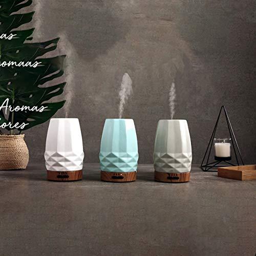 La Casa Aromas Aceite aromático Concentrado 15 ml para Humidificador o Difusor de Aroma (2 - Difusor Deco Stone Topo)