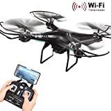 Oyedens X5SW-1 Wifi FPV RTF 2.4G 4CH RC Quadcopter Camera Drone with HD Camera UAV Real-time Images Return