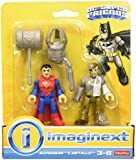 Fisher Price Imaginext Toy - DC Super Friends - Superman and Metallo Action Figure