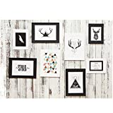 8 x Handwerk Papier Set Bilderrahmen DIY Wandbilder Hängende Rahmen Album Seilklammer Wanddekoration