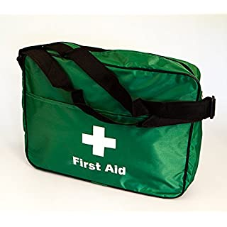 KITTED PERSONALISED FIRST AID BAG WITH SHOULDER STRAP. WINTER SPECIAL OFFER.