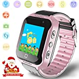 Kids GPS Fitness Tracker Smartwatches - Boys Girls Watch Phone with SOS Help