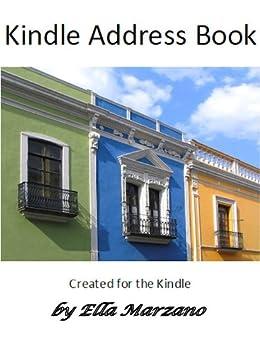 Kindle Address Book with Grocery List (English Edition) von [Marzano, Ella]