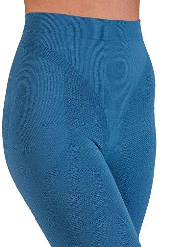 Pantaloncito corto anti-celulitis, tratados con nanopartículas de plata - Jeans tamaño S