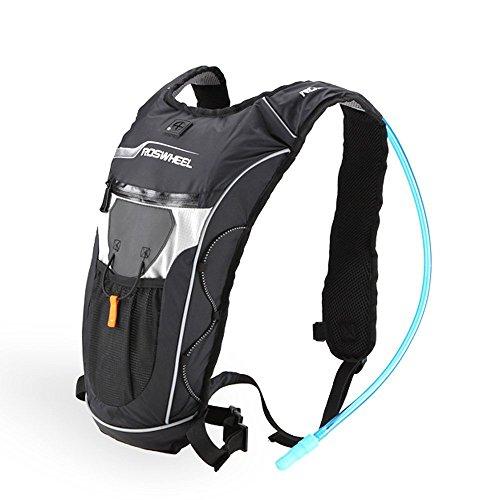 Docooler 5L Zaino Escursionismo Unisex con 2L Sacchetto della Vescica dell'acqua per Campeggio Sport
