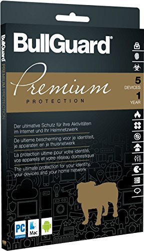 BullGuard Premium Protection 1 Jahr 5 Geräte DVD-Case ohne Datenträger