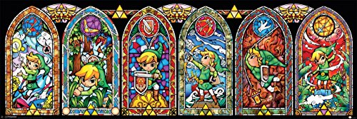 Legend of Zelda Mini Poster Pack Stained Glass 30 x 90 cm (5) Pyramid International