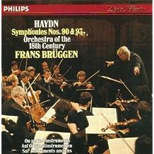 Haydn-Bruggen -Symphonies Nos 90 & 93
