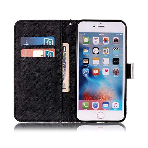 """iPhone 6 Plus Coque, Mythollogy - Housse en Cuir PU Case Étui à rabat Portefeuille Coque de Protection avce Support Antichoc Coque Case Cover pour iPhone 6 Plus / iPhone 6S Plus (5.5"""") - DREAN HBS"""