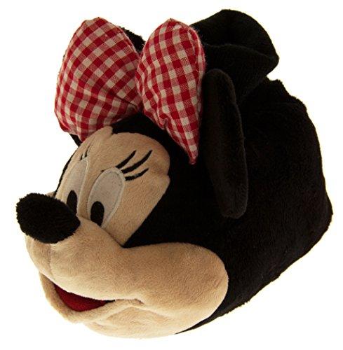 Disney Bambini Minnie Mouse (bow/quadretti) Pantofole Carattere Di Novità EU 32