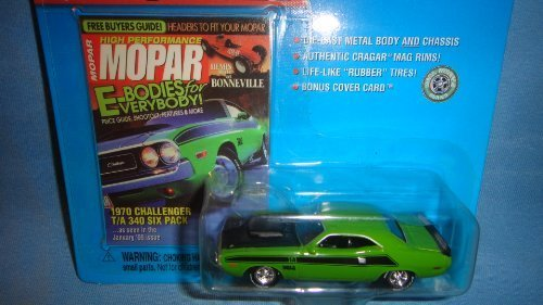 JOHNNY LIGHTNING MOPAR HIGH PERFORMANCE 1970 GREEN CHALLENGER T/A 340 SIX PACK DIE-CAST by Playing Mantis
