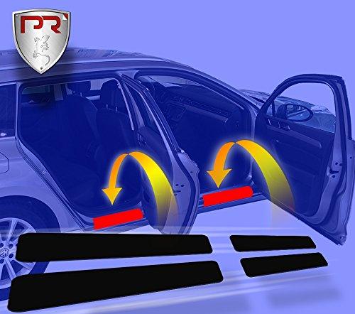 PR-Folia Einstiegsleisten für CX3 passend, Steinschlagschutzfolie, Schutzfolie und Autofolie für Türeinstiege, Lackschutzfolie in Schwarz
