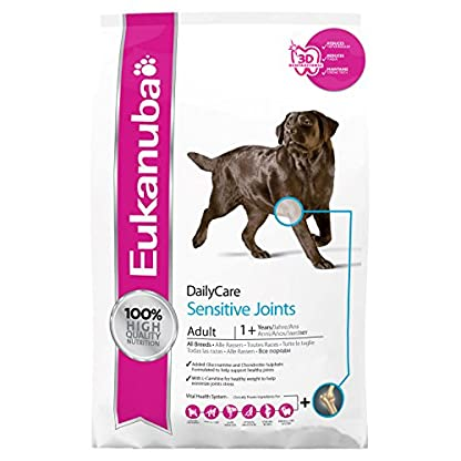 Eukanuba Dry Dog Food Daily Care Adult Sensitive Joints, Chicken, 12.5 kg 1