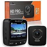 WheelWitness HD Pro Plus Premium Dash CAM w/WiFi & GPS, iPhone Android Compatible, 2K...