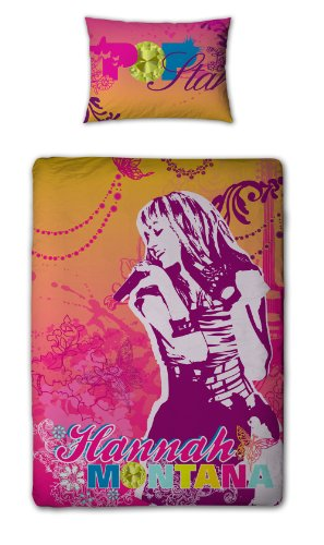 character-world-hannah-montana-gem-panel-duvet-set-single
