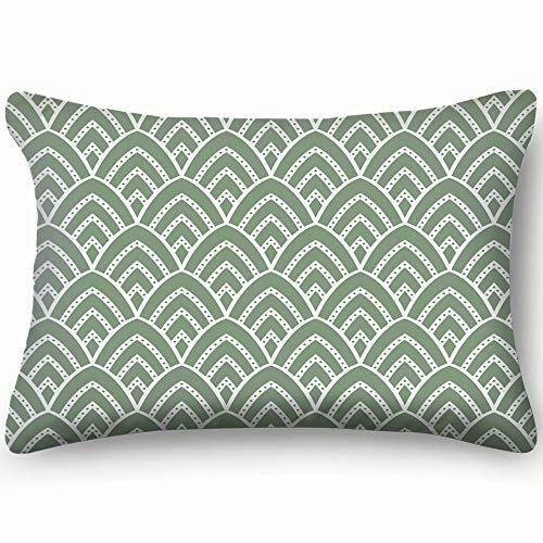tuyi Vintage Art Deco Geometric Geometric Home Decor Wedding Gift Engagement Present Housewarming Gift Cushion Cover 20x30 inch (Engagement Diamond Cut Cushion)
