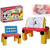 Table multifonctions (dessin + maths) mickey mouse disney 8433 - jouets pour les garçons et les filles - stimulation et d'apprentissage - MWS2033