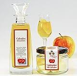 Calvados Geschenkset mit Apfelspalten - die besondere Geschenkidee!