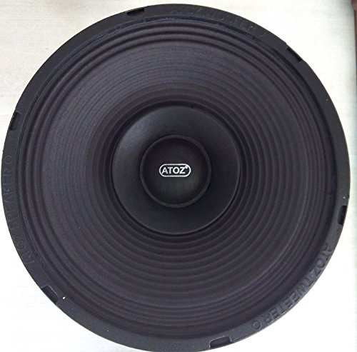 Crispy Deals ATOZ 8-inch Loud Speaker Musical 4 Ohm 40 Watts (Ramp Audio Cone)
