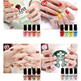 Generic Nail Polish Mini Series Gift Set 4 x 6ml (18 Color) #04968418(05#)