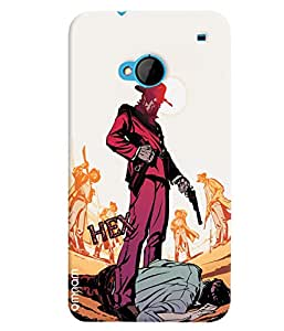 Omnam mafia killing gangster designer back cover case for HTC One M7