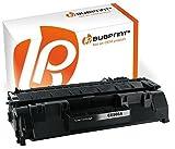 Bubprint Toner kompatibel für HP CE505A 05A für Laserjet P2030 P2033N P2034N P2035N P2036N P2037N P2055D P2055DN P2056 P2057 2300 S. Schwarz