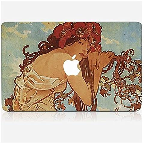 Pegatina Macbook pro 13retina de Chez Skinkin–diseño Original: Summer por Alfons Maria