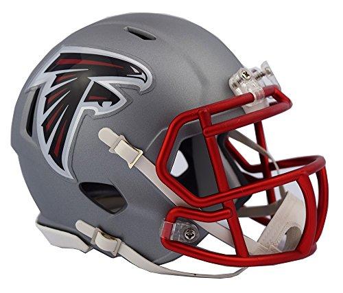 Riddell Atlanta Falcons Blaze Speed Helm, Grau, Mini