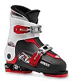 Roces Patins Idea Up 19,0–22.0Enfants réglable pour Chaussures de Ski, Enfant, Idea UP 19.0-22.0, Noir/Blanc/Rouge, 30-35...