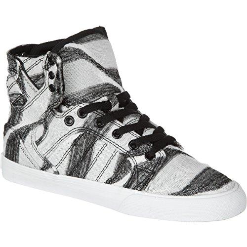 Supra Skytop Sneaker WHT/PRINT/WHT