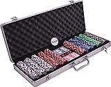Malette Aluminium Poker 500 Jetons 11,5g