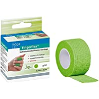 Höga-Pharm, Fingerflex grün 2.5 cm x 4.5 m, selbsthaftende Pflaster Bandage, 1er Pack (1 x 20 g) preisvergleich bei billige-tabletten.eu